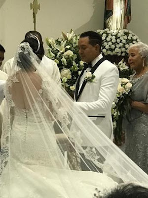 """Fotos: La boda de """"El Príncipe"""" Frank Reyes"""