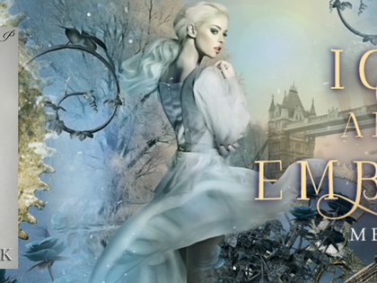 New Release: Ice and Embers: Steampunk Snow Queen now available!