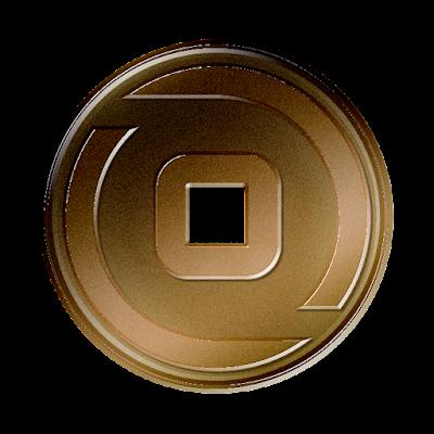 ビットゼニー(BitZeny)新ロゴのフリー素材(銅貨古銭ver)
