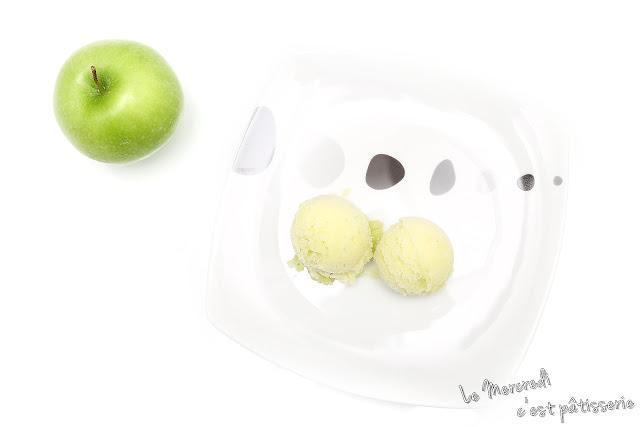 Sorbet à la pomme Granny