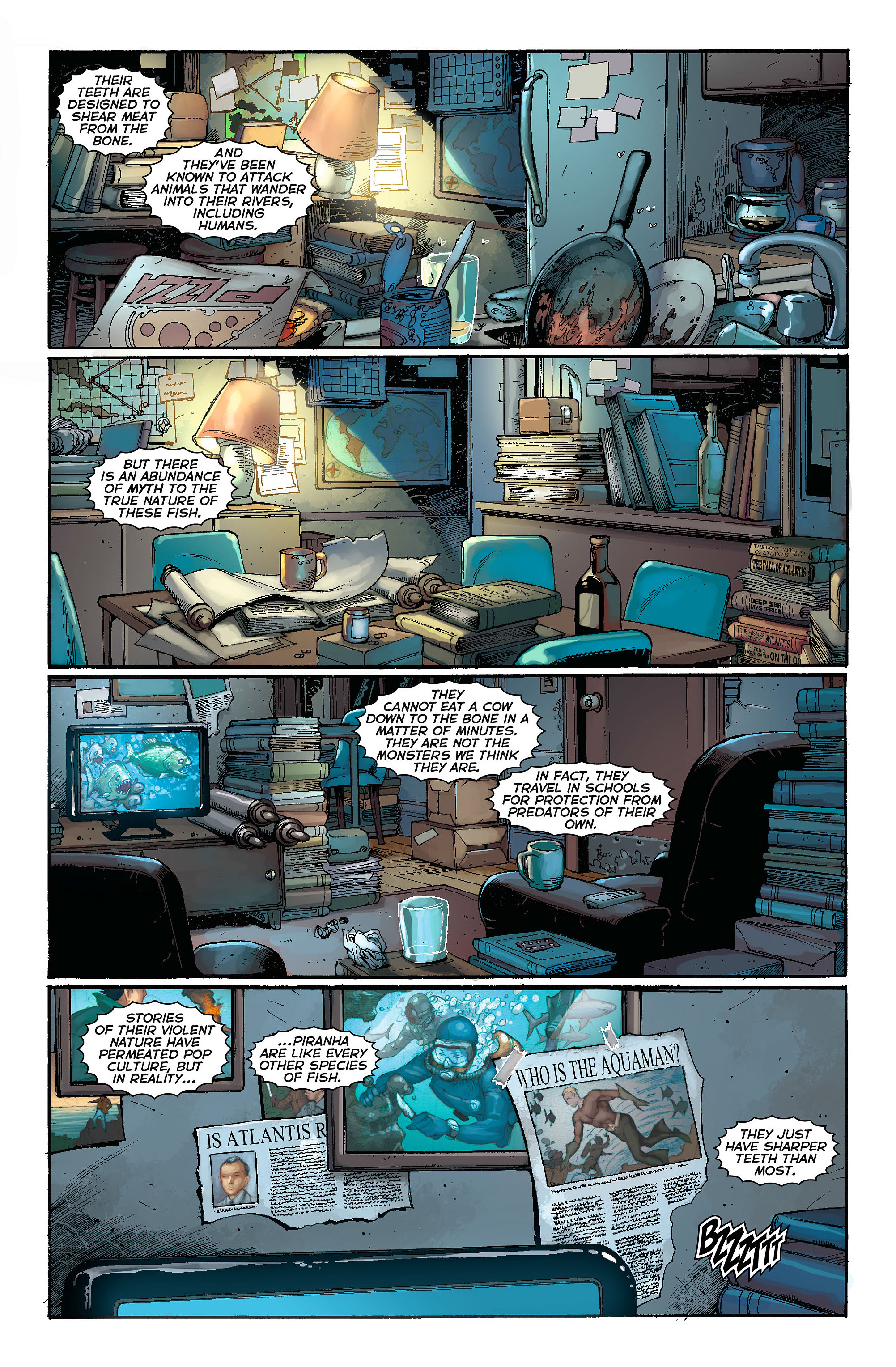 Read online Aquaman (2011) comic -  Issue #3 - 14