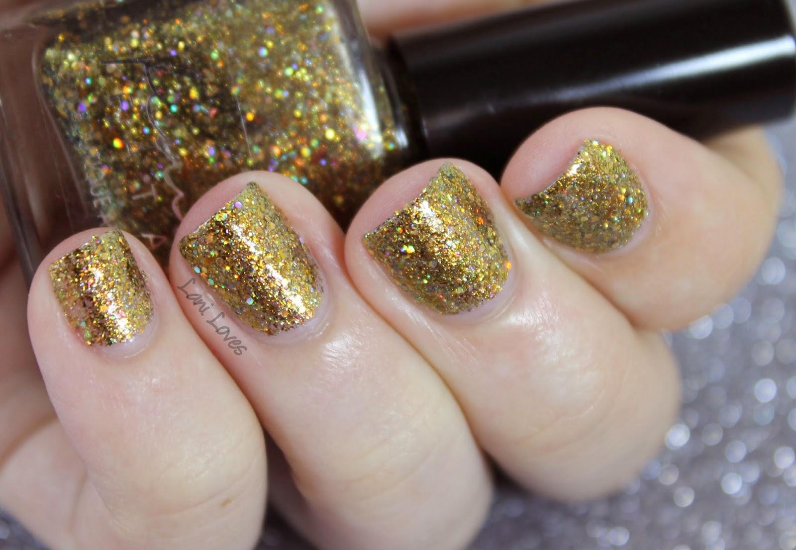 Femme Fatale Cosmetics - Fool's Paradise nail polish swatch