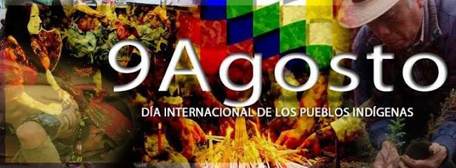 Resultado de imagen para Agosto 9 Día de los pueblos indígenas