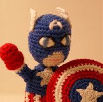 Captain America Amigurumi – Minasscraft Patrones Amigurumis | 209x211