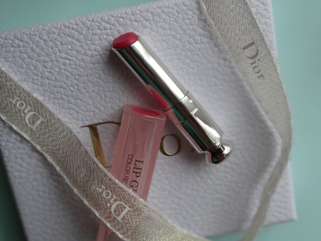 Dior Addict Lip Glow Color Reviver Balm in Raspberry