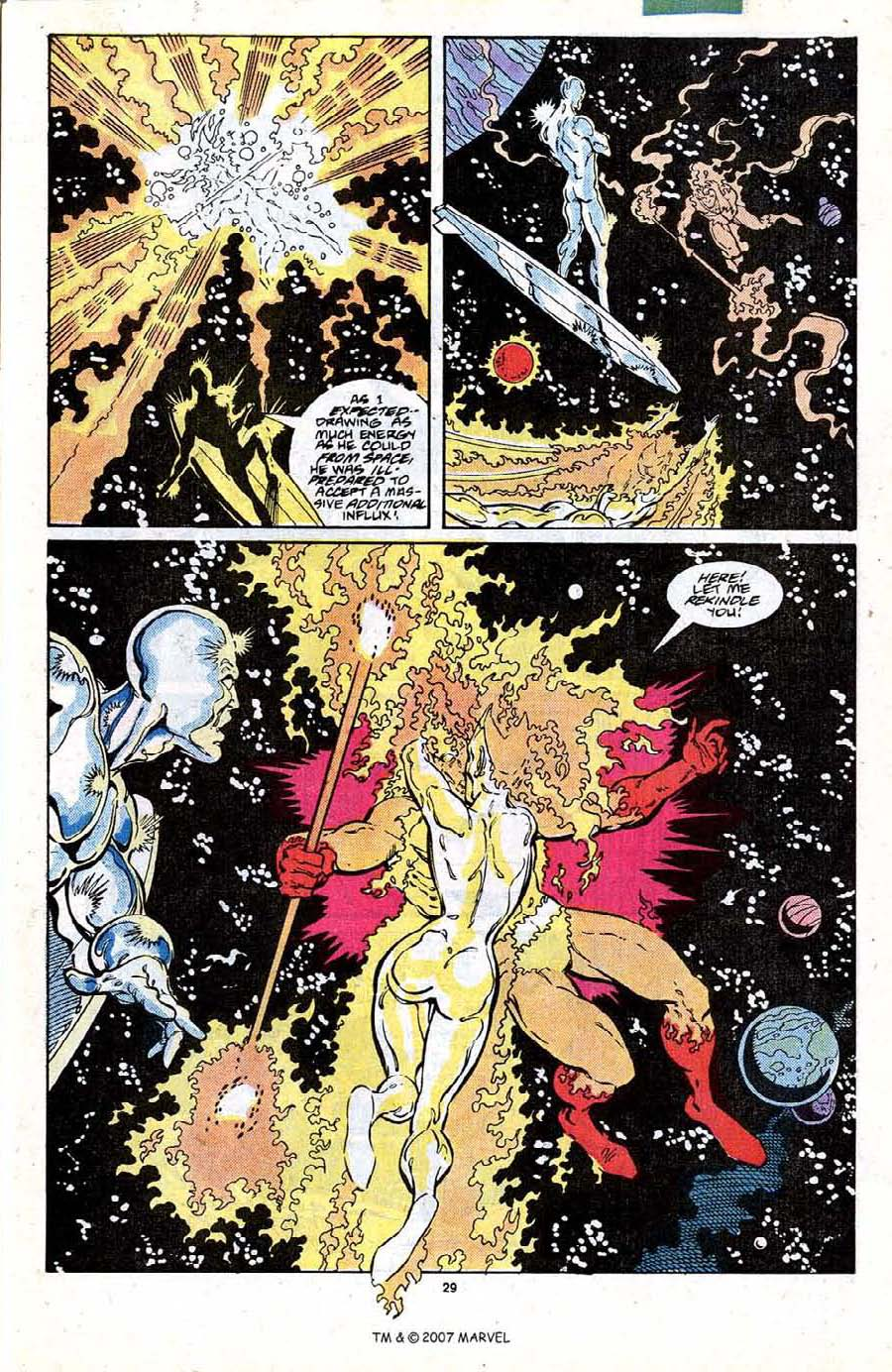 Read online Silver Surfer (1987) comic -  Issue #19 - 31