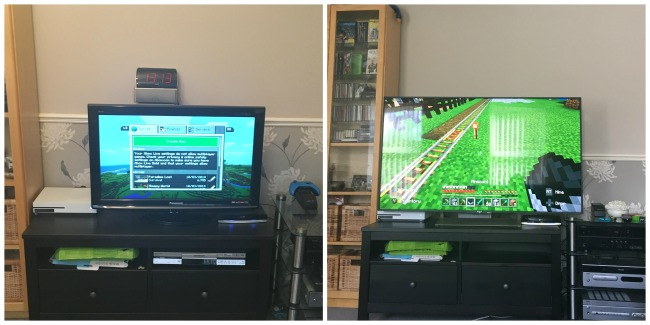 collage-of-two-TVs-side-by-side-one-small-one-large-both-with-scenes-from-minecraft-on-them
