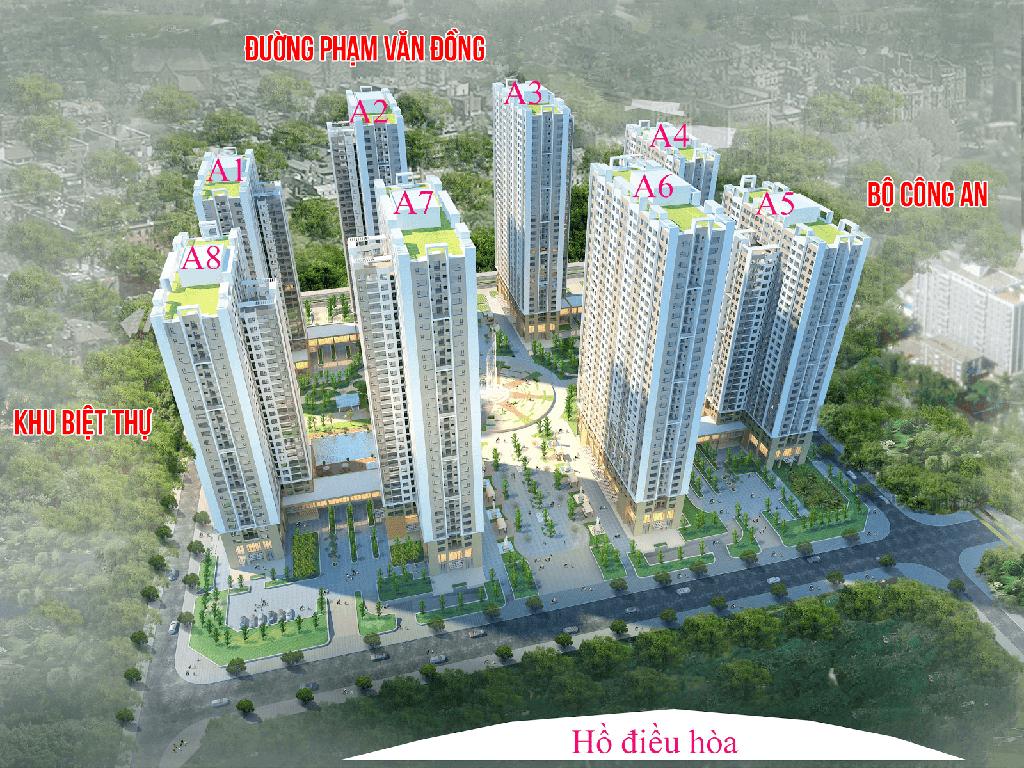 Tổng quan dự án chung cư An Bình City