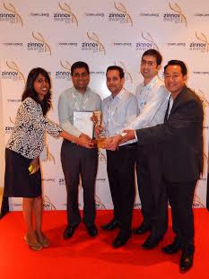 Knowlarity crowned Established Startup Beacon at Zinnov Awards 2015