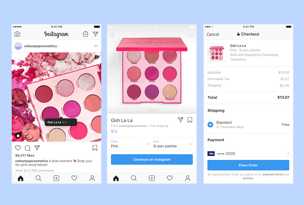Facebook is Introducing Checkout on Instagram
