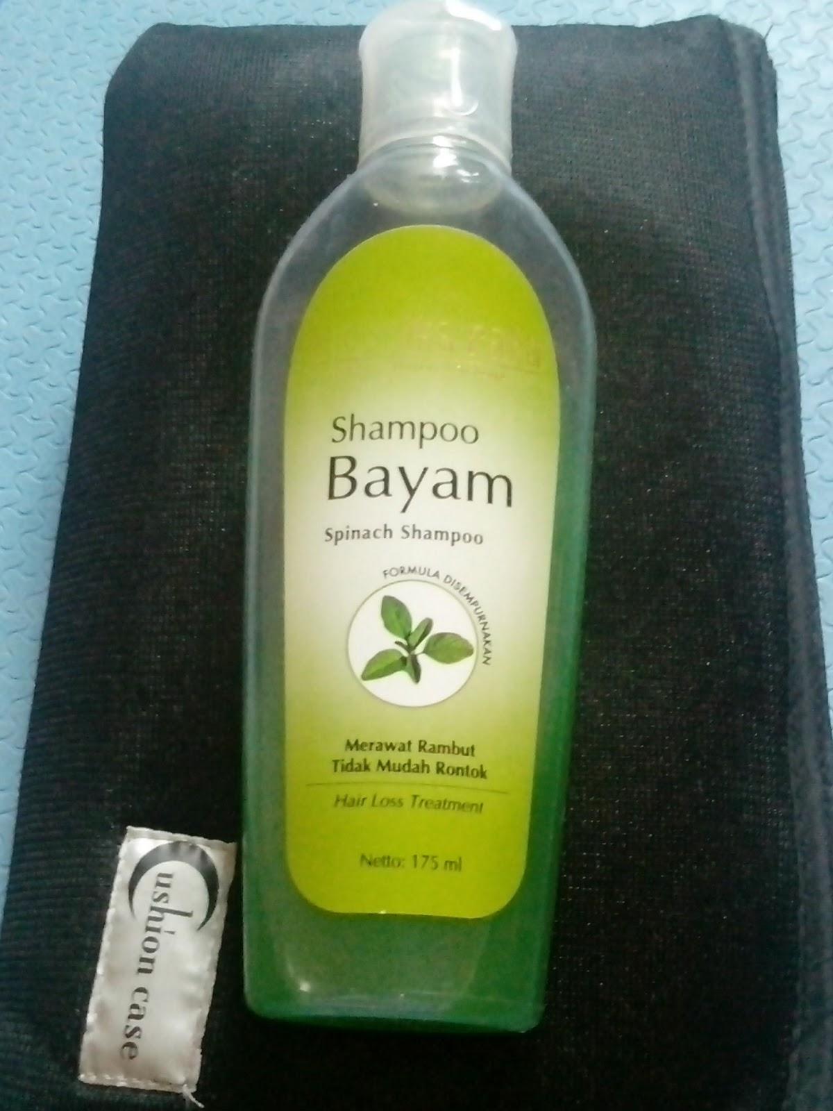 Mustika Ratu Shampoo Bayam Merawat Rambut Tidak Mudah Rontok 175ml Best Seller Perawatan Akar Kuat Dan Sehat