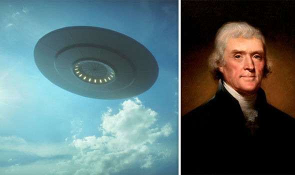 Letter to President Jefferson may be earliest recorded visit of Aliens.