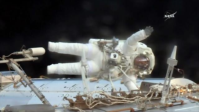 NASA reparará con urgencia la Estación Espacial Internacional