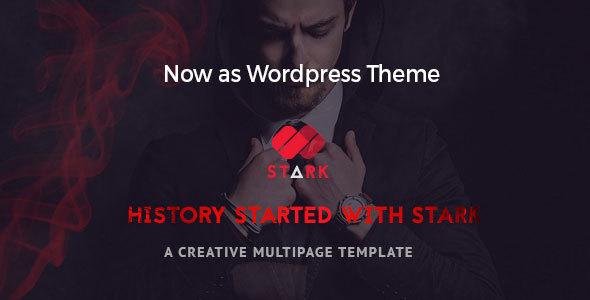 Stark - Creative WordPress Theme