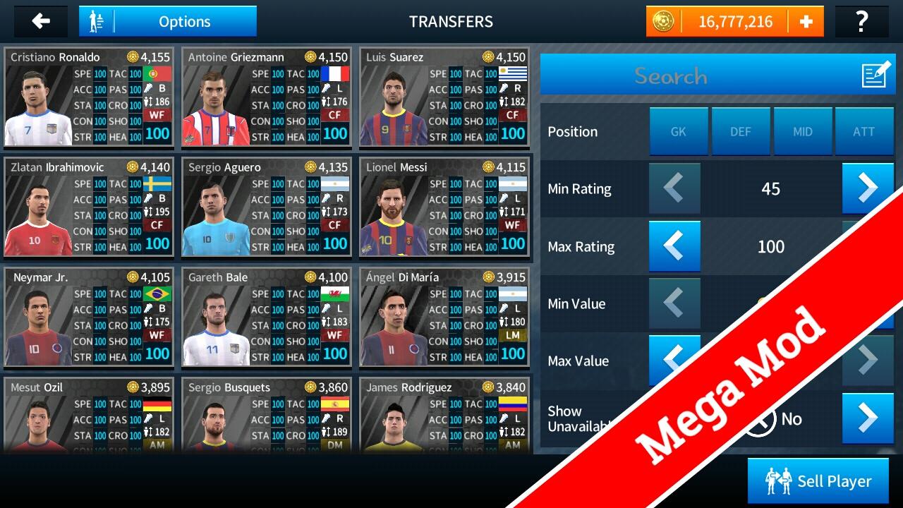 download dream league soccer 2018 mod apk unlock all player