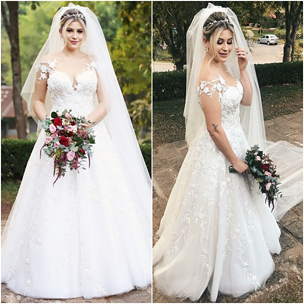 vestido de noiva casamento religioso niina secrets