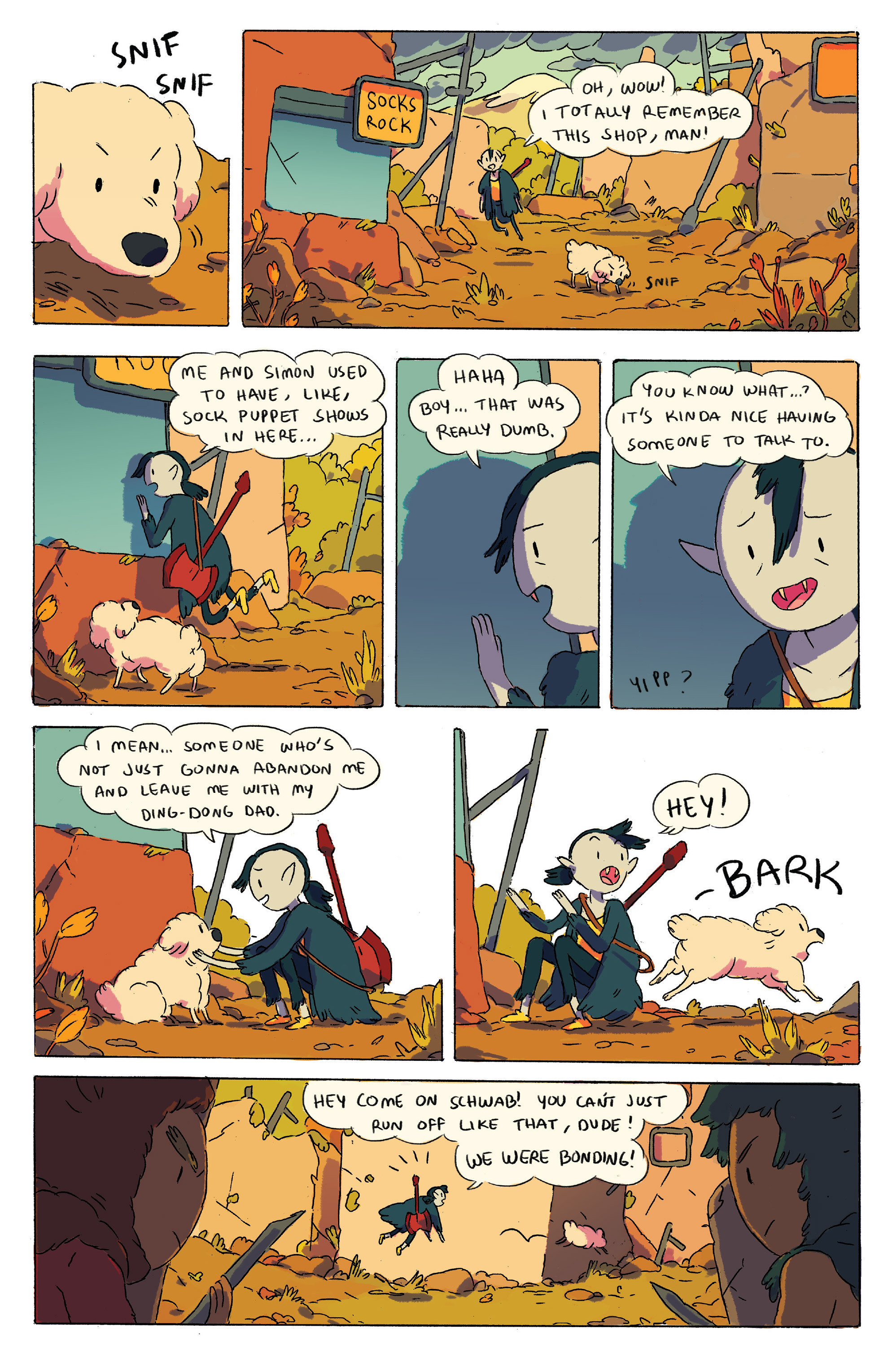 Read online Adventure Time comic -  Issue # _2015 Spoooktacular - 4