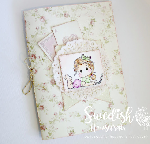 #tbt Stitched notebook tutorial | By Anna Sigga
