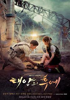 Sinopsis dan Jalan Cerita Drama Korea Descendants of the Sun 2016