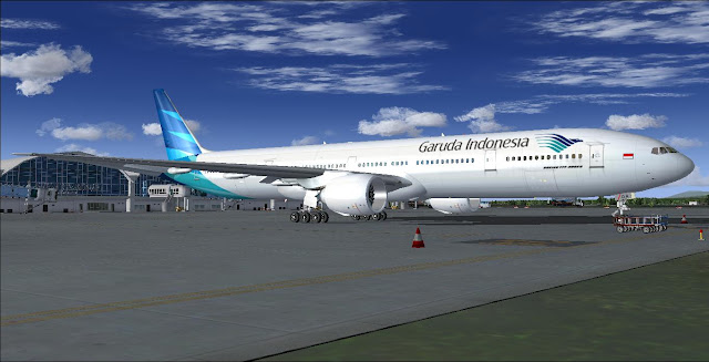 Boeing 777-300ER Garuda Indonesia (Fictional) - SkyXReborn