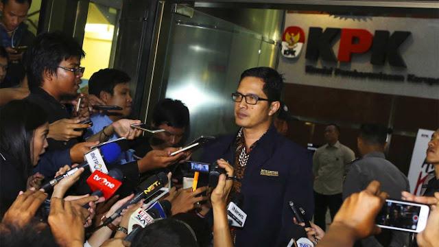 KPK Anggap Aneh Novel Diminta Buktikan Penyiram Air Keras