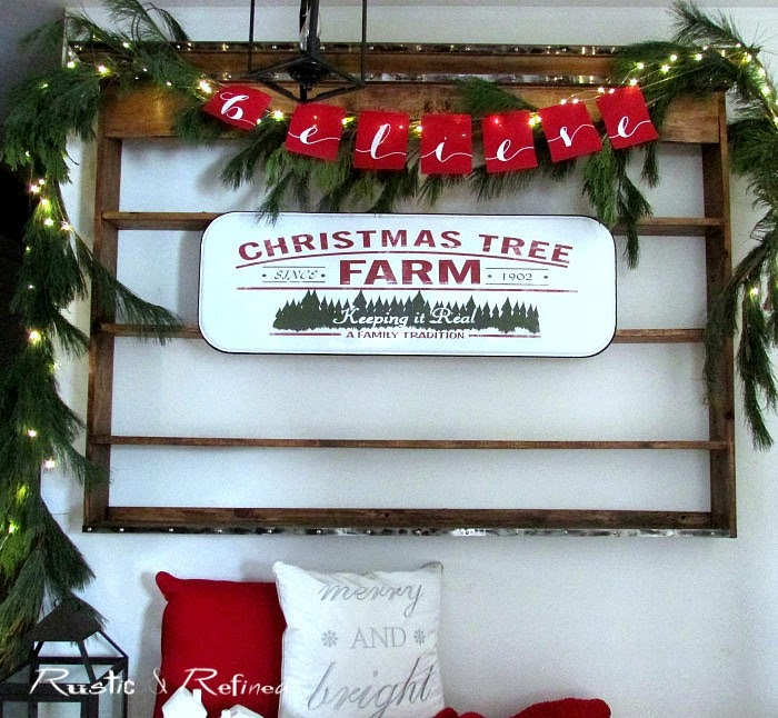 decorating the entryway for christmas with modern and rustic touches for the perfect holiday setting 0