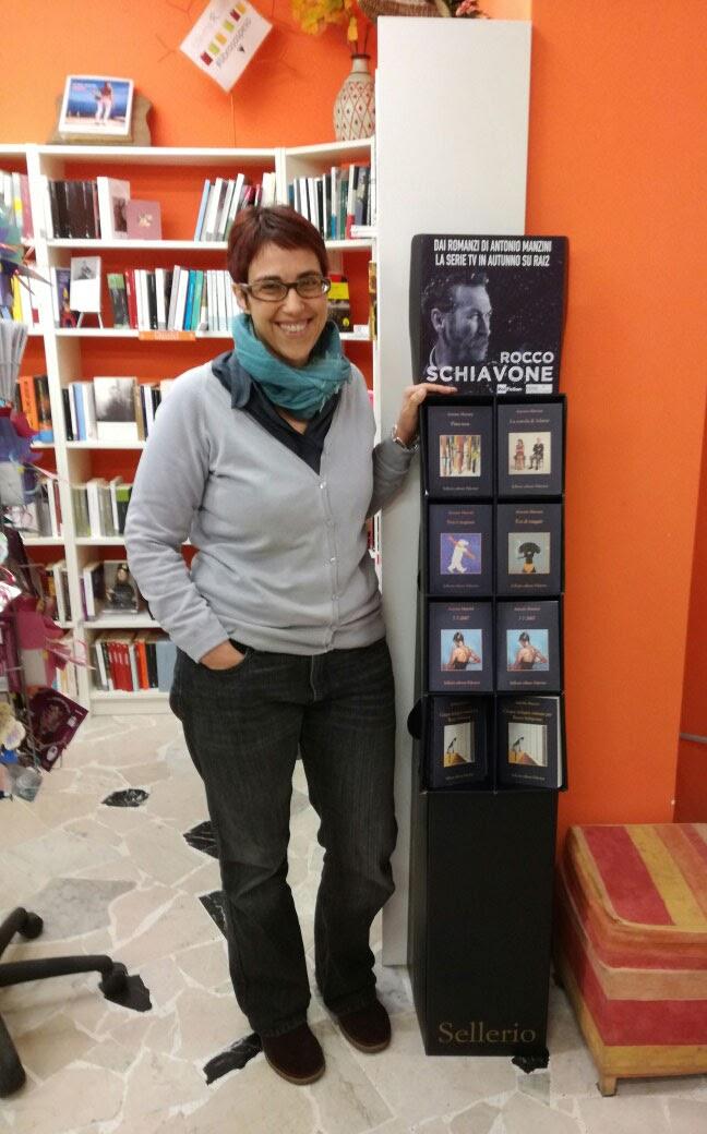 La Libreria Risvolti promuove Manzini, Sellerio