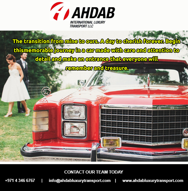 Welcome To Ahdab International Luxury Transport Bridal Car Service