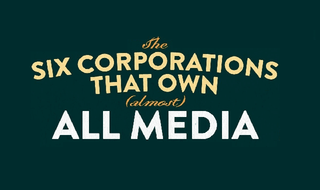 The 6 Companies That Own (almost) All Media