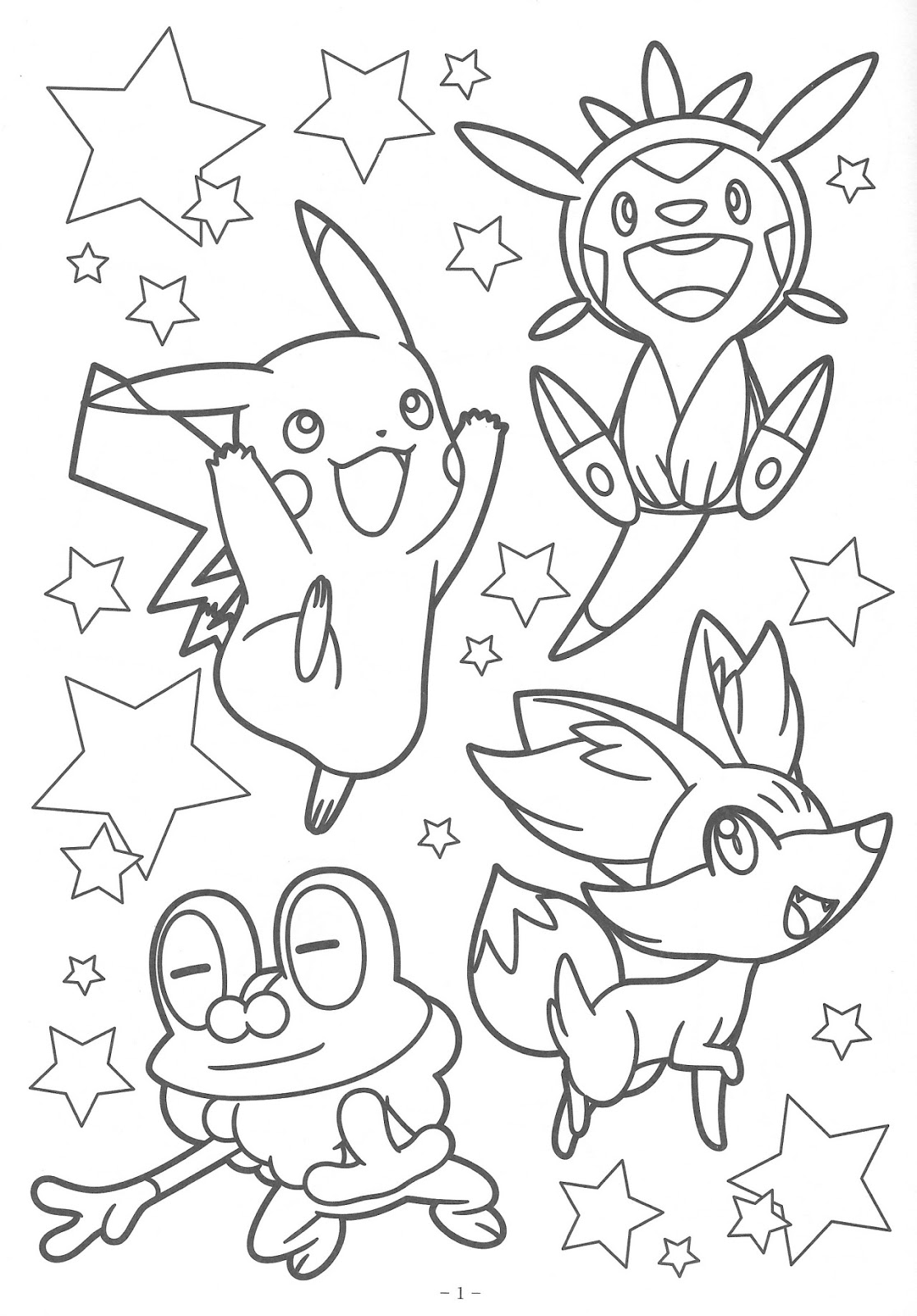 desenhos para colorir pokémon coloring book xy