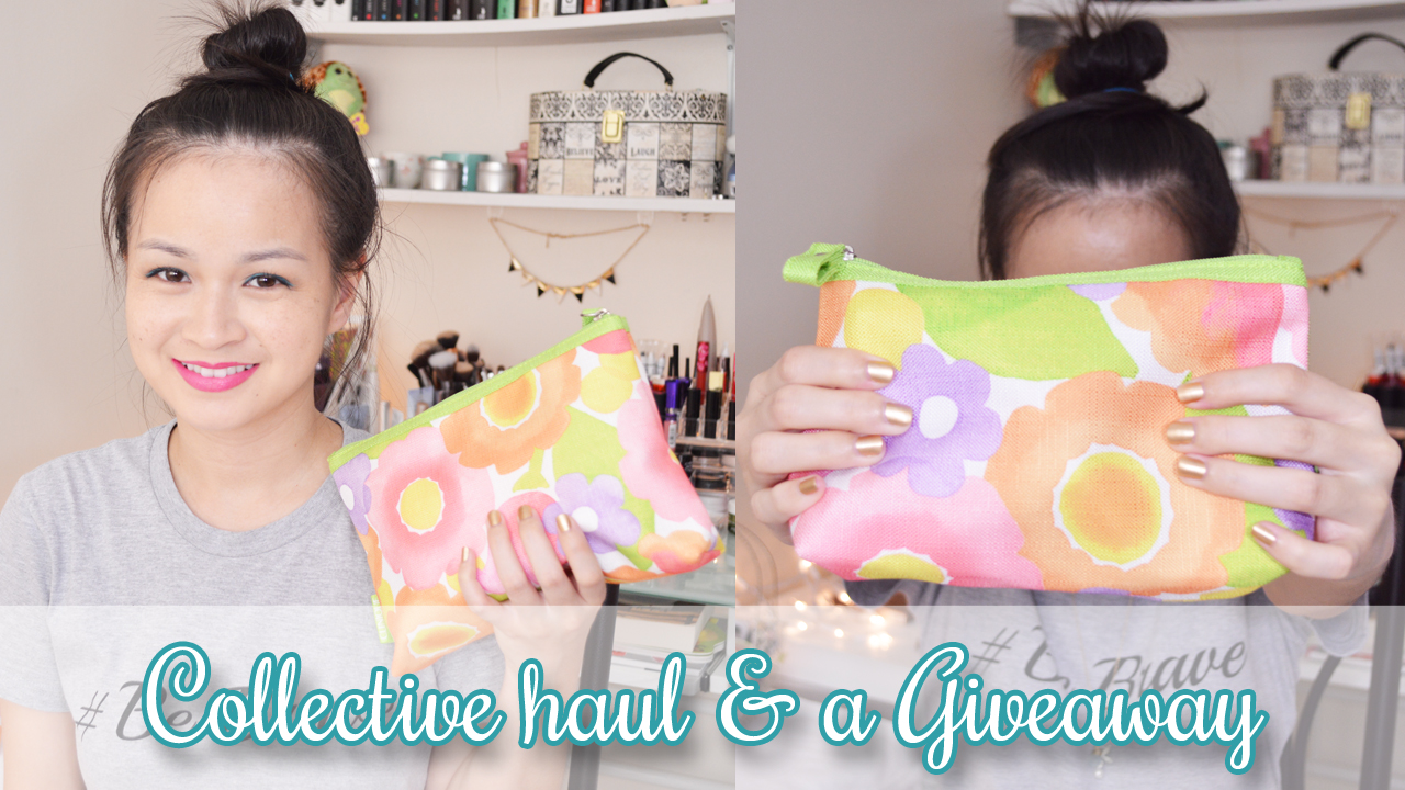 A Beauty Moment: APRIL COLLECTIVE HAUL AND GIVEAWAY