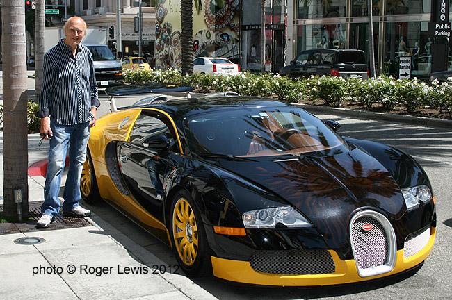 The Owner Of A Bugatti Photorog Photoblog