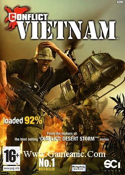 Conflict Vietnam Game Cover