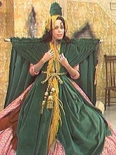 Carol Burnett as Scarlet O'Hara