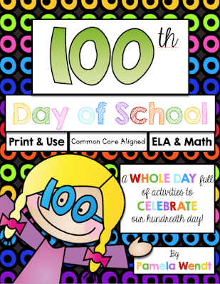 100th Day of School - picture books + activities + STEM + STEAM + Math + ELA
