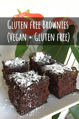 Gluten Free Brownies (Vegan + Nut Free)