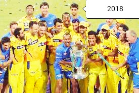 Chennai super king won IPL 2018
