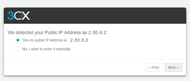 Menjalankan 3CX PBX Konfigurasi Tools-anditii.web.id