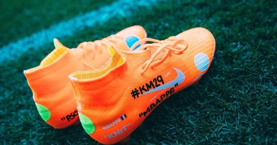 Mbapp 233 Trains In Exclusive Nike X Off White Mercurial