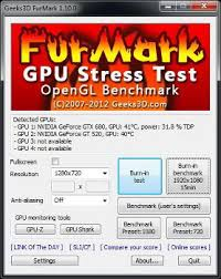 FurMark Free Download Latest Version For Windows