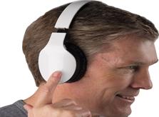 Finger Swipe Headphone