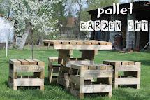 Bag Of Pretty Surprise - Pallet Garden Furniture