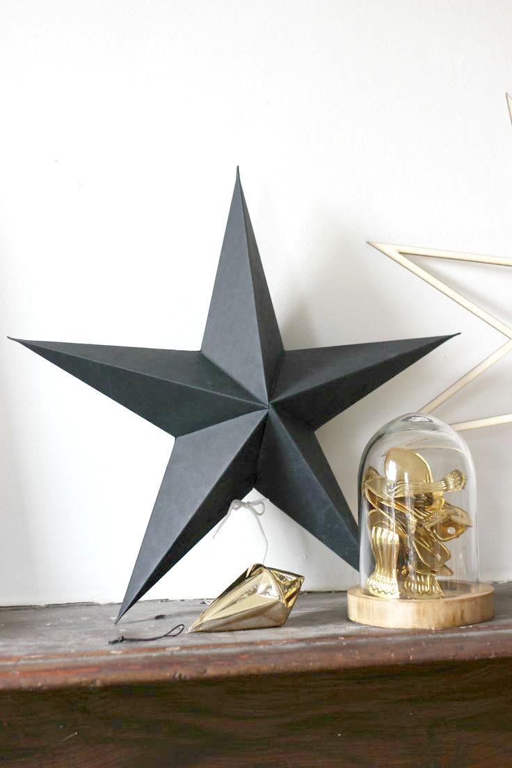 duża gwiazda z papieru