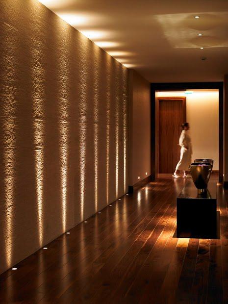 arquitetura de ilumina o ilumina o de hotel spa. Black Bedroom Furniture Sets. Home Design Ideas