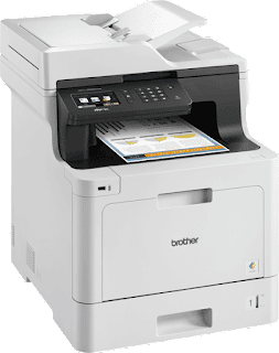 copying together with faxing documents inwards add-on to Light Amplification by Stimulated Emission of Radiation coloring printing Brother MFC-L8690CDW Driver Download