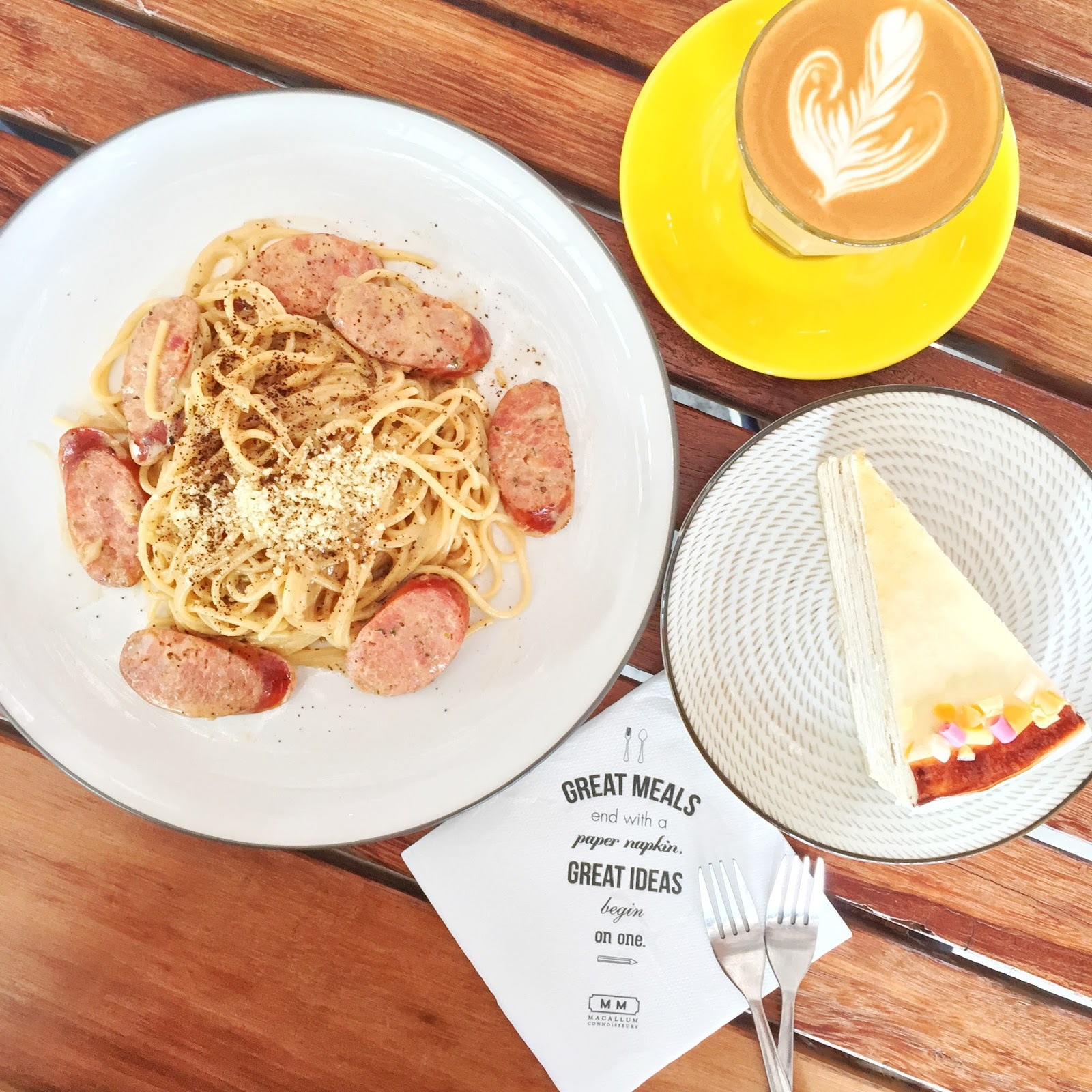 Penang Cafes - Macallum Connoisseurs Coffee Company