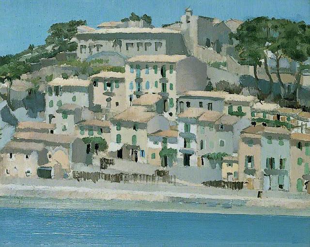Jesse Dale Cas, Puerto Soller, Paisajes de Mallorca, Mallorca en Pintura, Mallorca Pintada