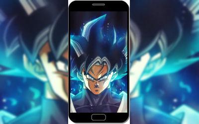 Goku Énervé - Fond d'Écran en QHD pour Mobile