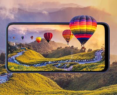 Galaxy A10 Phone Display