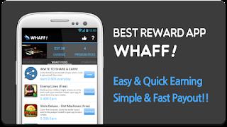 Cara Menghasilkan Uang Dengan Android - Whaff Rewards